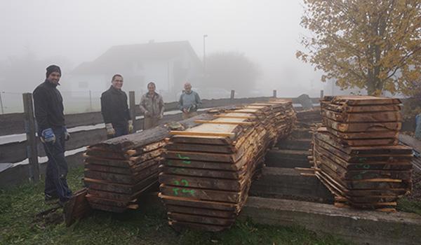 5 Holzlager aussen