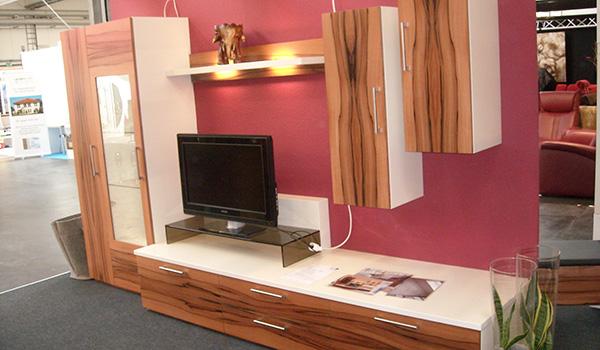 Wohnwand In Tineo Holz | Gewa - Die Möbelschreinerei